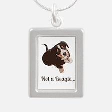 Not a Beagle - Entlebucher Mtn Dog Necklaces