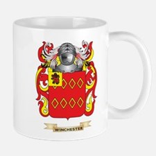 Winchester Family Crest (Coat of Arms) Mugs