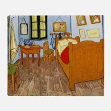 Van Gogh - Vincent's Bed in Arles Throw Blanket