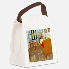 Van Gogh - Vincent's Bed in Arles Canvas Lunch Bag