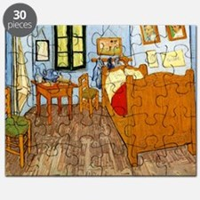 Van Gogh - Vincent's Bed in Arles Puzzle