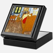 Van Gogh - Vincent's Bed in Arles Keepsake Box