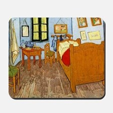 Van Gogh - Vincent's Bed in Arles Mousepad
