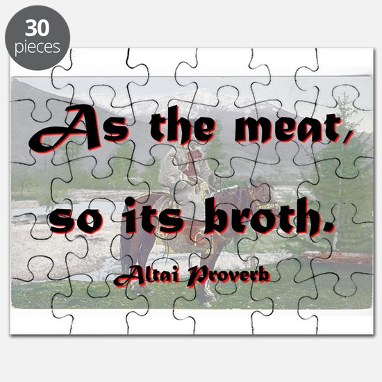 As The Meat So Its Broth - Altai Puzzle