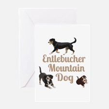 Entlebucher Mountain Dog Greeting Cards