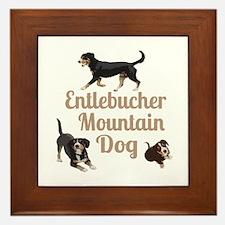 Entlebucher Mountain Dog Framed Tile
