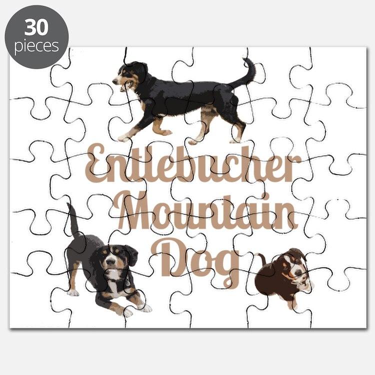 Entlebucher Mountain Dog Puzzle