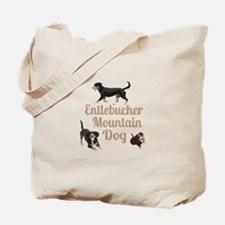 Entlebucher Mountain Dog Tote Bag