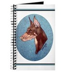 Red Doberman Pinscher Journal