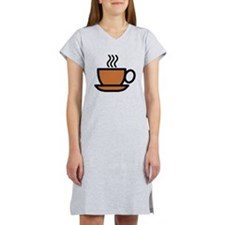 Hot Cup of Coffee Women's Nightshirt
