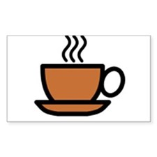 Hot Cup of Coffee Decal