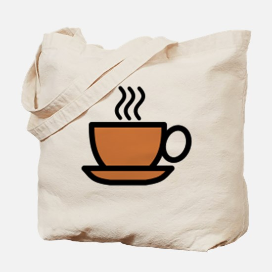 Hot Cup of Coffee Tote Bag