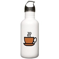 Hot Cup of Coffee Water Bottle