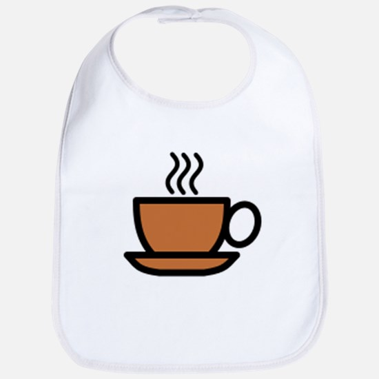 Hot Cup of Coffee Bib