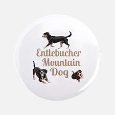 """Entlebucher Mountain Dog 3.5"""" Button (100 pac"""