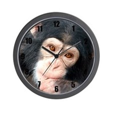 Cute Monkey Wall Clock