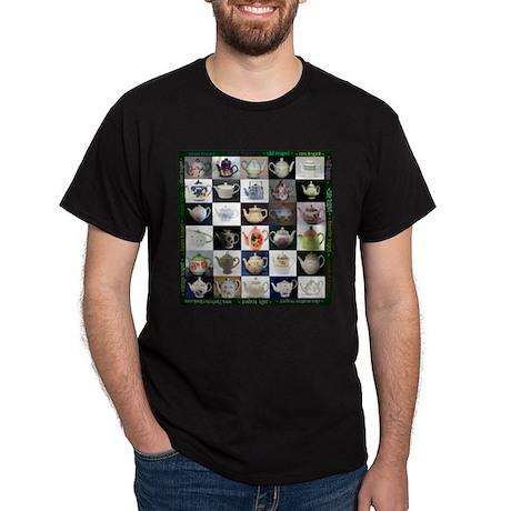 30 Teapots Dark T-Shirt