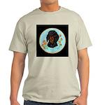 Black and Tan Dachshund Ash Grey T-Shirt