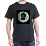 Black and Tan Dachshund Dark T-Shirt
