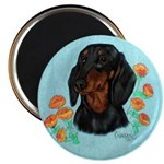 Black and Tan Dachshund Magnet