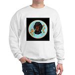 Black and Tan Dachshund Sweatshirt