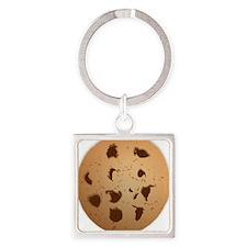 Chocolate Chip Cookie Keychains