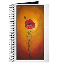 Tuscan Poppy Journal