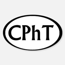 CphT 1 Oval Decal