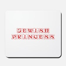 jewish-princess-kon-red Mousepad