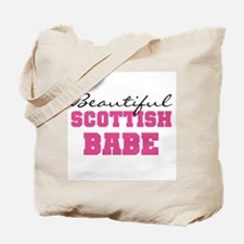 Scottish Babe Tote Bag