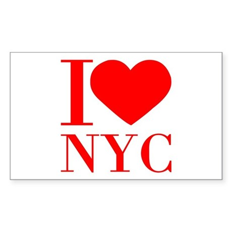 I-heart-love-NYC Sticker