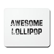 Awesome Lollipop Mousepad