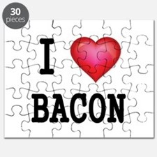 I LOVE BACON Puzzle