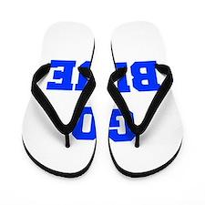go-blue-fresh-blue Flip Flops