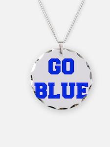 go-blue-fresh-blue Necklace