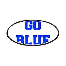 go-blue-fresh-blue Patches