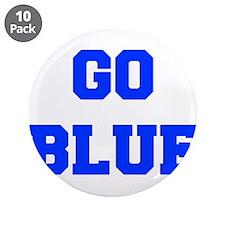 "go-blue-fresh-blue 3.5"" Button (10 pack)"