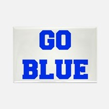 go-blue-fresh-blue Magnets