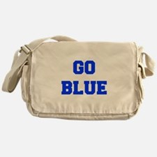go-blue-fresh-blue Messenger Bag