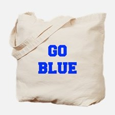 go-blue-fresh-blue Tote Bag
