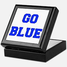 go-blue-fresh-blue Keepsake Box