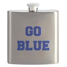 go-blue-fresh-blue Flask