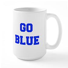 go-blue-fresh-blue Mugs