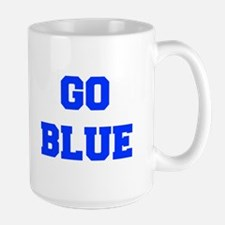 go-blue-fresh-blue Mugs