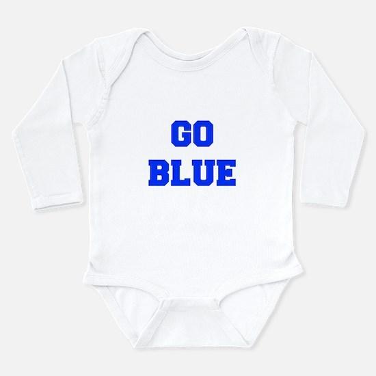 go-blue-fresh-blue Body Suit