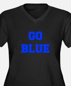 go-blue-fresh-blue Plus Size T-Shirt