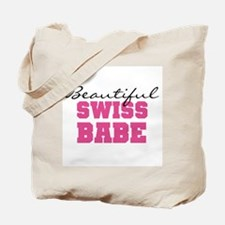 Swiss Babe Tote Bag