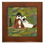 Bully Soldier Framed Tile