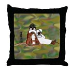 Bully Soldier Throw Pillow