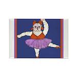The Bullarina Rectangle Magnet (100 pack)